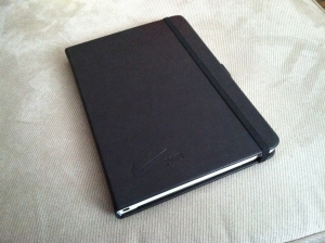 My new Nike journal, a gift from brand advocate Christina Yow!