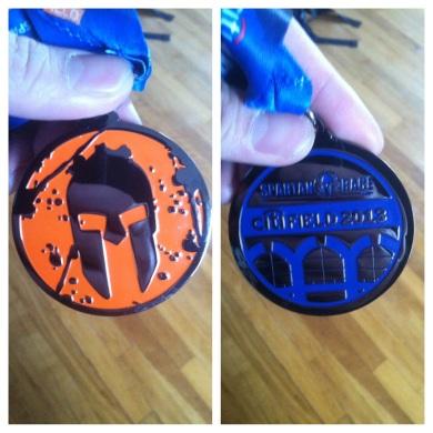 Spartan Sprint Citi Field Medal