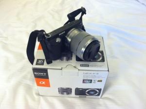 NEX-F3 Interchangeable E-mount Lens Camera
