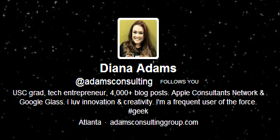 Sphere Of Influence: Diana Adams On Tech And Blogging For Newbies