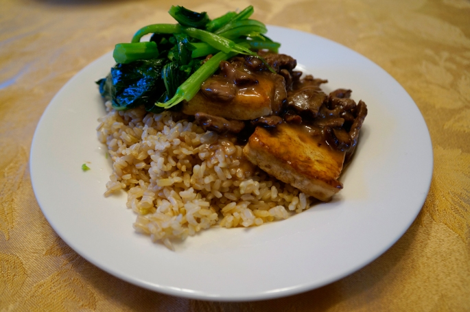 All About The Food:  Beef With Tofu