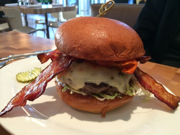 All About The Food:  Zinburger Wine and Burger Bar, Nanuet