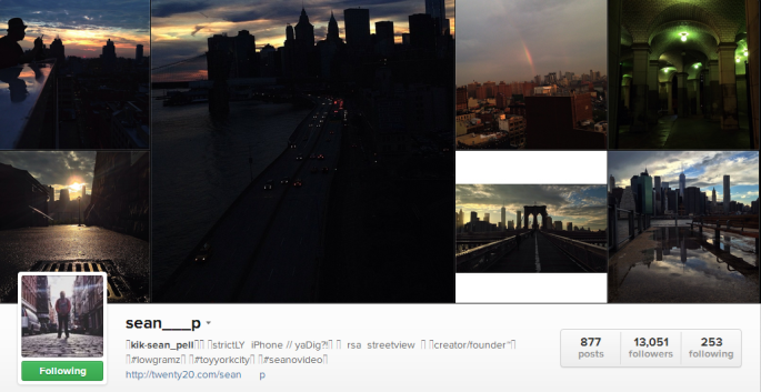 Pause The World: 5 More NYC Instagramers To Follow