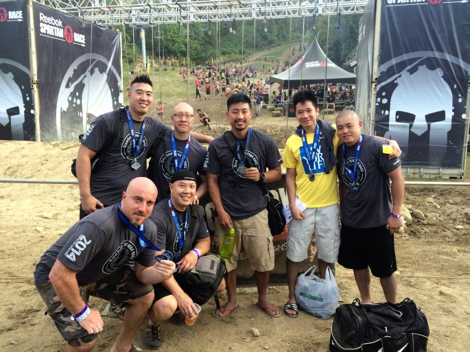 Spartan Race: Start together, finish together