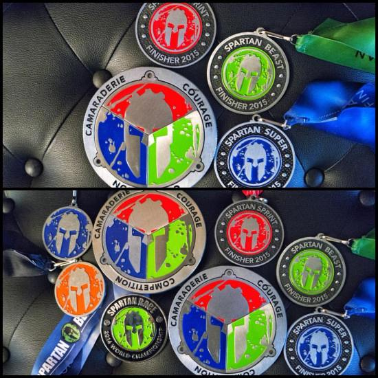 I'll never forget the experiences that I had earning these two Spartan Race trifectas.