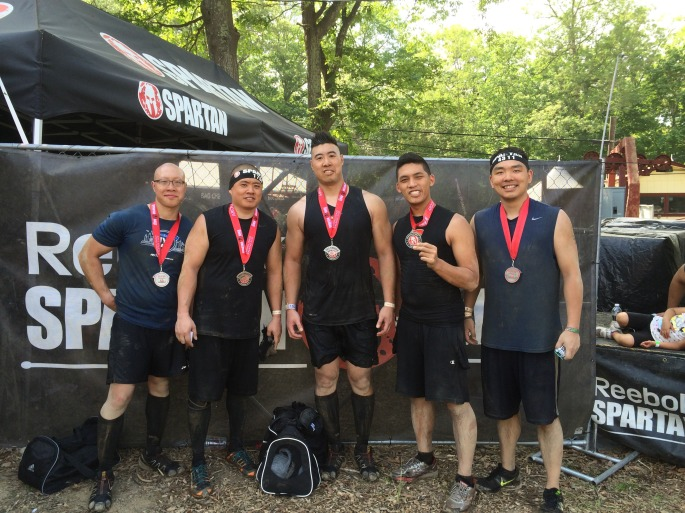2015 Spartan Sprint, two-thirds of the way through my second trifecta.